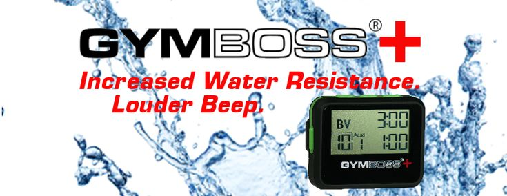 NEW - Gymboss PLUS Interval Timer!