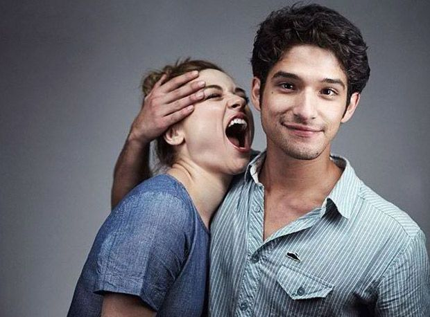 Crystal Reed and Tyler Posey in the Entertainment Weekly Comic-Con Photo Booth. Hopefully will be seeing them at 2013 COMIC CON!