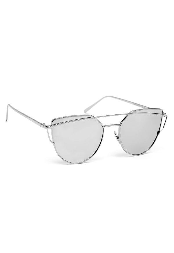 77thFLEA Shout sunglasses Sølv - Bubbleroom