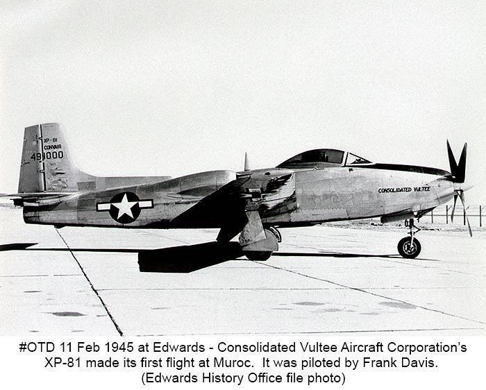The Consolidated Vultee Xp