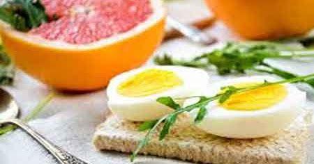 Pierde  20 Libras en  7 días con la dieta de huevo y pomelo