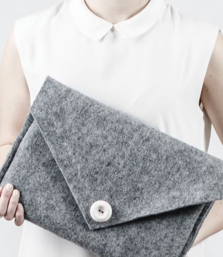 Handmade laptop case sewn just for you!  Shop online: www.tombeducielcases.com