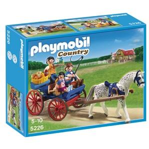 PLAYMOBIL Paardenkoets met familie 5226