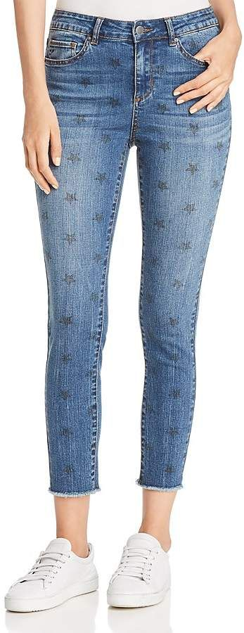AQUA Star Print Skinny Jeans - 100% Exclusive $88.00 http://shopstyle.it/l/u27B