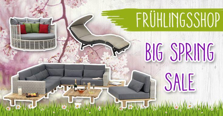 Premium Gartenmöbel - Bestellen Sie jetzt mit 15% Rabatt!  #Saunaking #Frühlingsshop