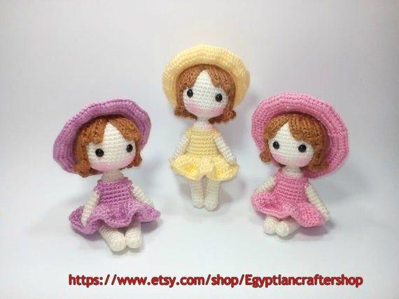 Amigurumi Mini Princesses (PDF Pattern) | Amigurumi patterns ... | 428x570