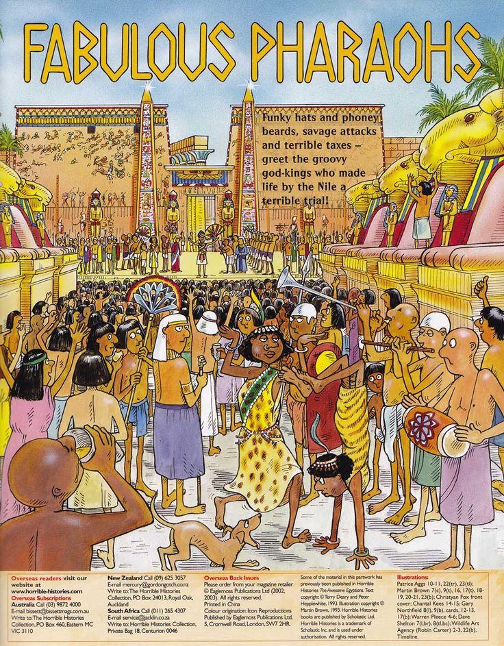 EGYPT: Horrible Histories Magazines, Horrible Books