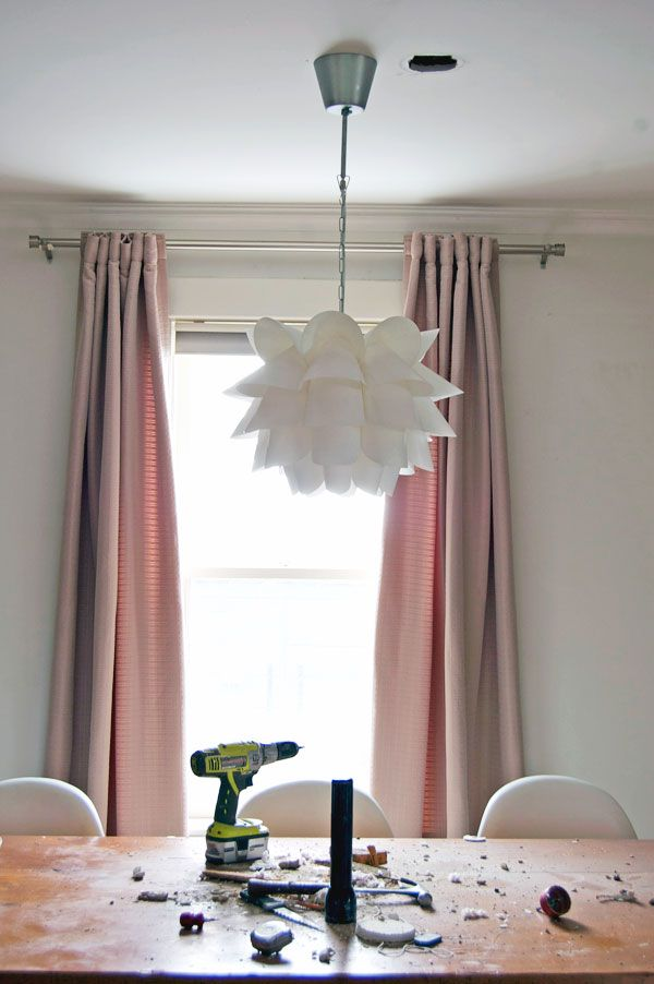 Moving a light fixture.  This is a great step by step tutorial.