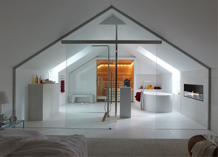 There Are No Words To Adequately Describe This! Bathroom IdeasAttic BathroomLoft  EnsuiteOpen ...