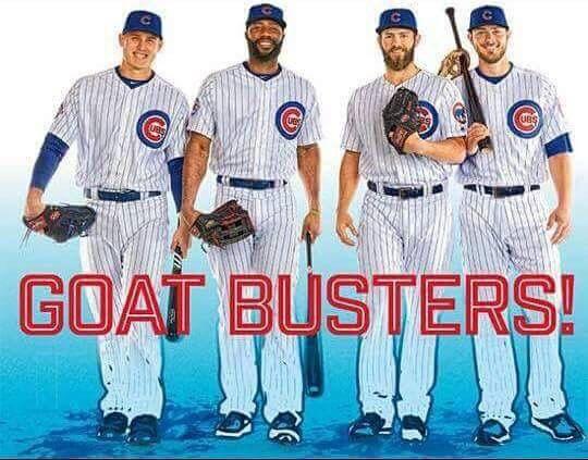 Rizzo, Heyward, Arrieta & Bryant #ChicagoCubs #LetsGoCubs