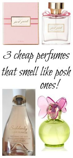 3 cheap perfumes that smell like posh ones!