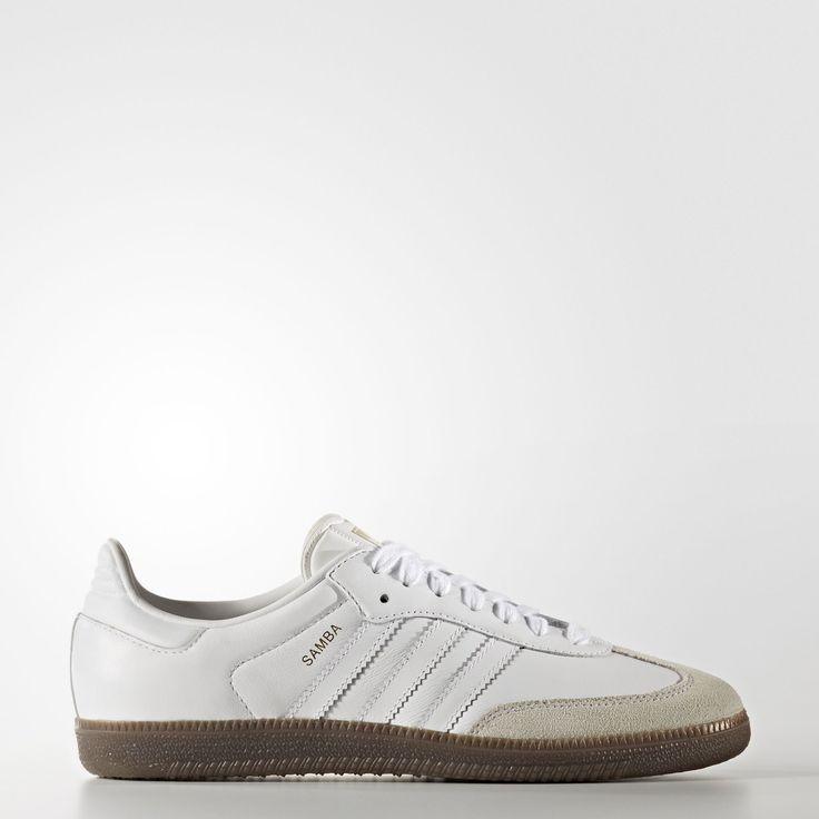 Adidas Samba Women's | White/White/Gum (BB2541)*