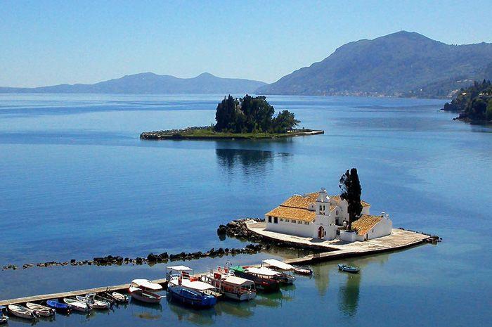 Corfou, Ile Grecque #croisière #croisierenet.com #voyage #Grêce #Corfu #IlesGrecques #croisièreméditerannée