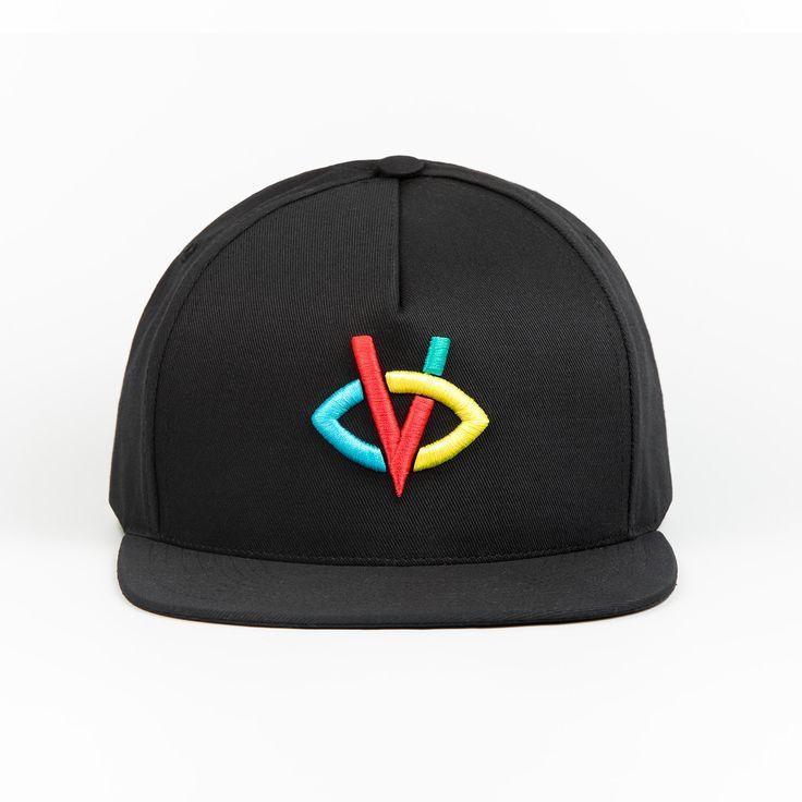 Casquette Visionnaire Logo Black Cap  Bigflo et Oli