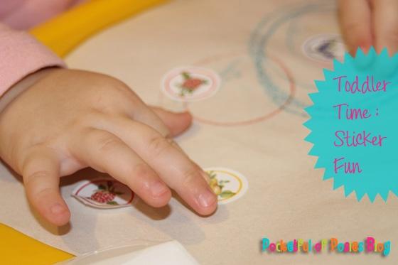 Toddler Time: Sticker Fun