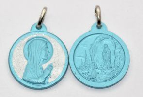 Lourdes Medal.