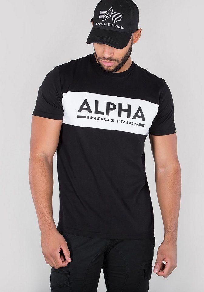 Alpha Industries T Shirt Alpha Inlay T Alpha Industries A