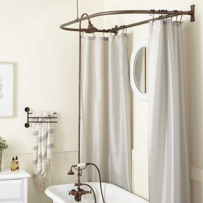 Brass Shower Head Oil Rubbed Bronze Shower Conversion Tub To