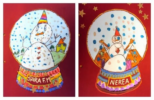 bola de neu, ninot de neu