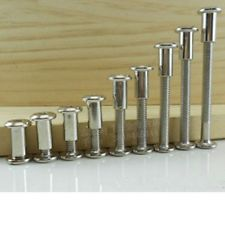 Pack of 10 M6 x 15 Connecting Screws,Bolts Kitchen Furniture ...