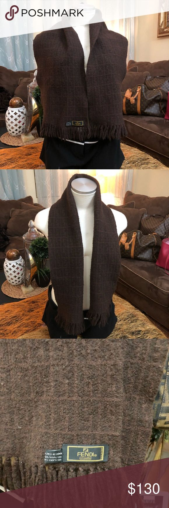 Fendi Scarf Pre-loved, 💯percent aunthentic Fendi Accessories Scarves & Wraps