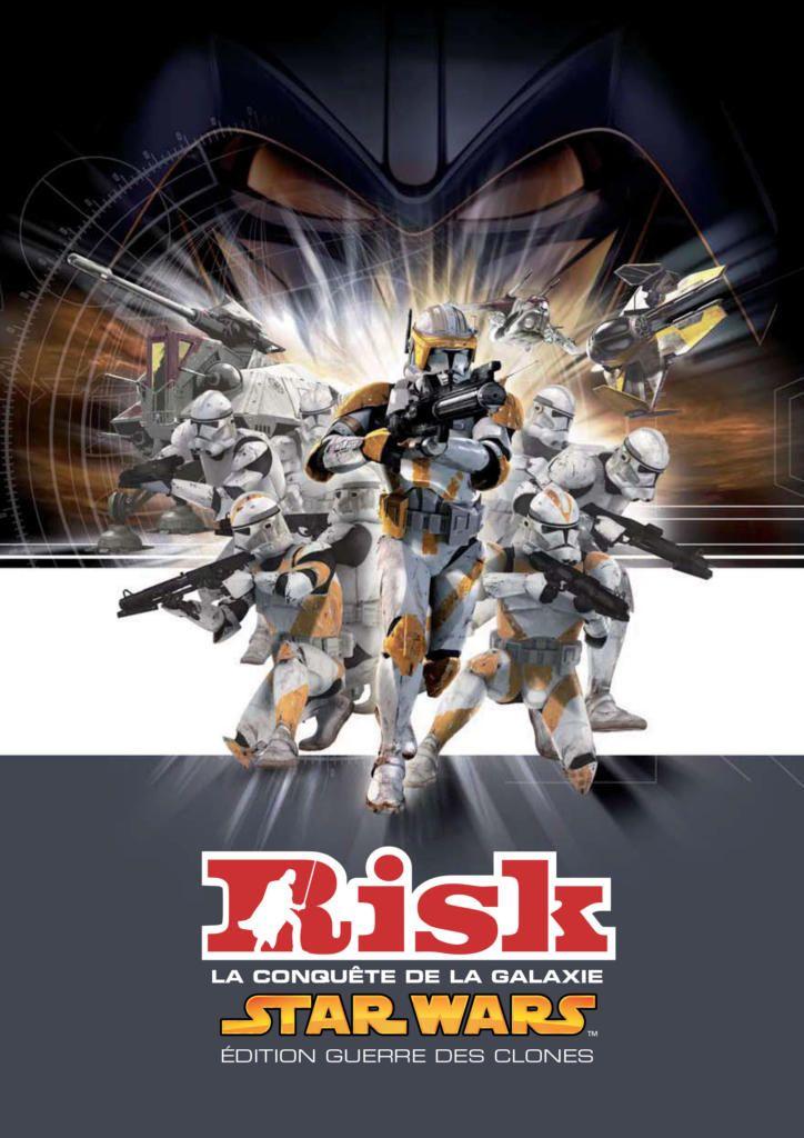 Risk Star Wars La conquête de la galaxie édition Guerre des clones - Acheter vendre sur Référence Gaming
