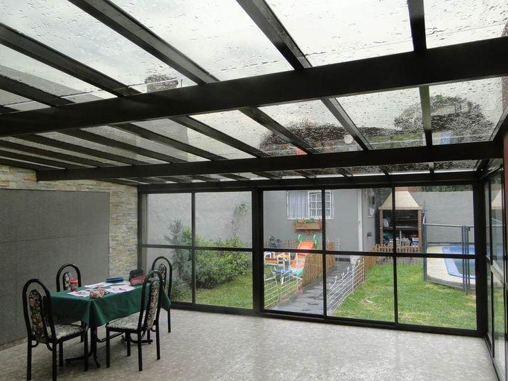 M s de 25 ideas incre bles sobre techo policarbonato en - Toldos para patios exteriores ...