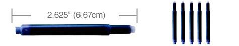 Lamy Refills by Monteverde Blue 5-Pack Fountain Pen Cartridge