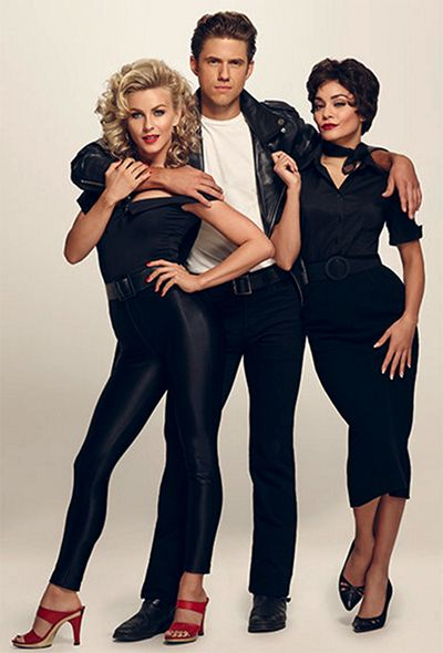 Grease: Live Stars Julianne Hough, Aaron Tveit and Vanessa Hudgens Give Us Chills! (They're Multiplyin'!) | Broadway Buzz | Broadway.com