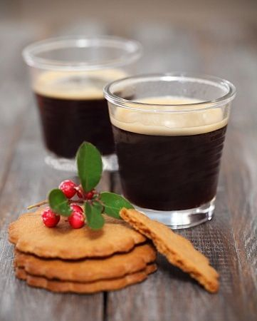 coffee & coocies are the best Christmas recipe
