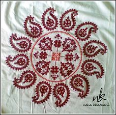 Image result for sindhi embroidery cushions