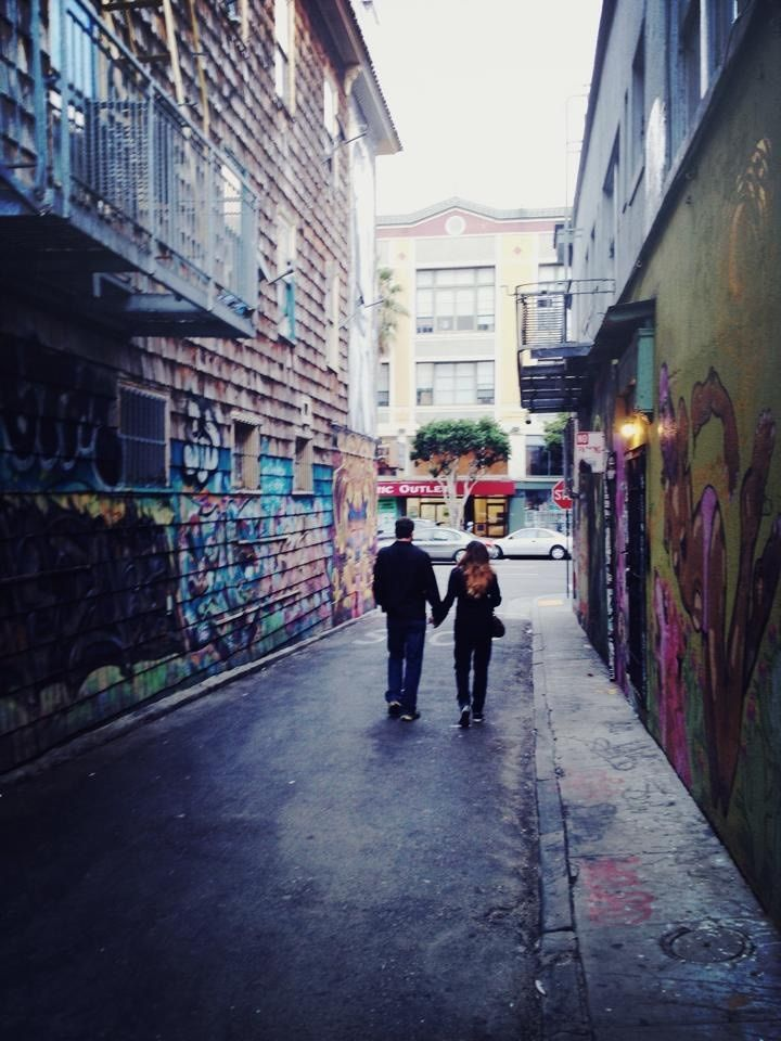 Snapped this couple in San Francisco 2014