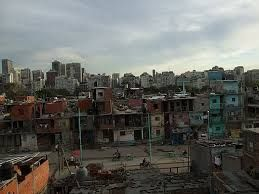 About 30% of the population in Argentina lives below the poverty line.