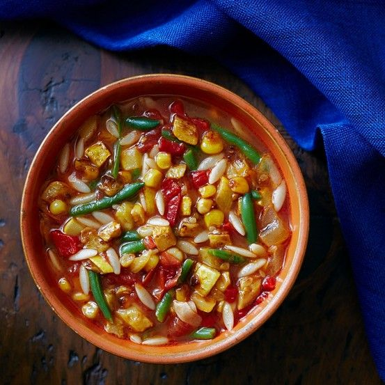 Minestrone: A Soup for All Seasons by wsj #Soup #Minestrone