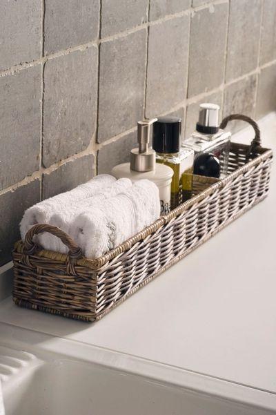 cute bathroom storage... arielcharlene