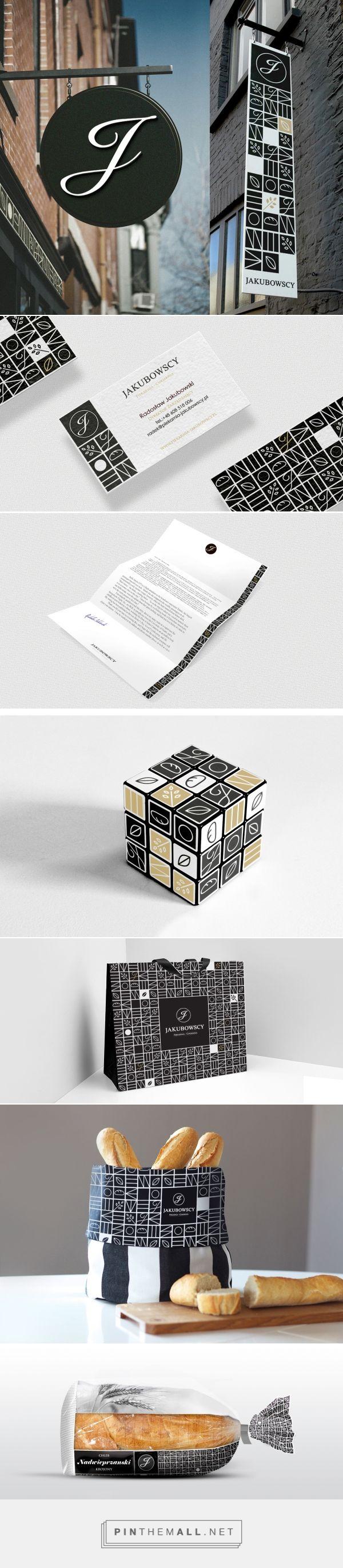 Piekarnia Jakubowscy :: Identyfikacja wizualna i budowanie marki - created via http://pinthemall.net