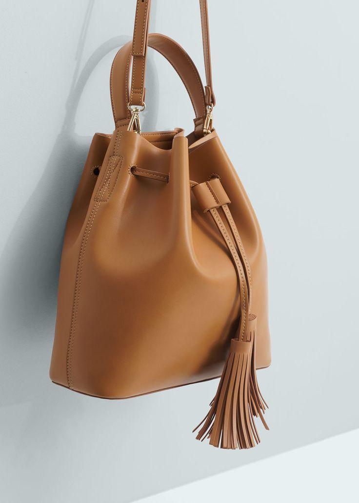 Bolso saco | MANGO                                                                                                                                                                                 Más