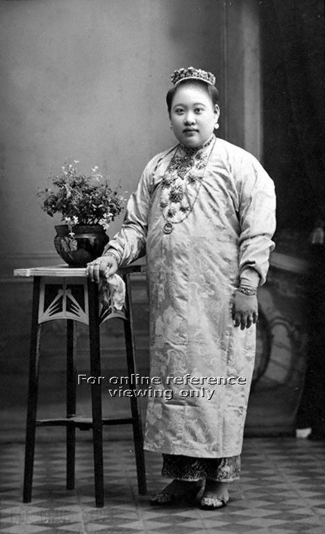 NONYA (Peranakan) in PENANG, Malaysia - 1940s to 1950s