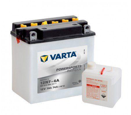 VARTA – BATTERIE MOTO VARTA 12V 12N7-4A: VARTA POWERSPORTS FRESHPACK : Le meilleur rapport qualité/prixLes batteries VARTA Powersports…