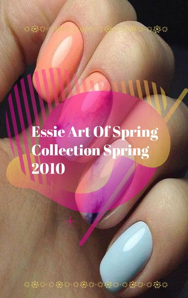 Essie Art Of Spring Collection Spring 2010 In 2020 Minimalist Nail Art Minimalist Nails Cute Nail Designs
