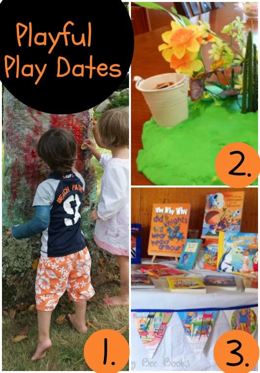 Playful Parenting Play Dates  - LOVE! **Sensory Bag Play Date