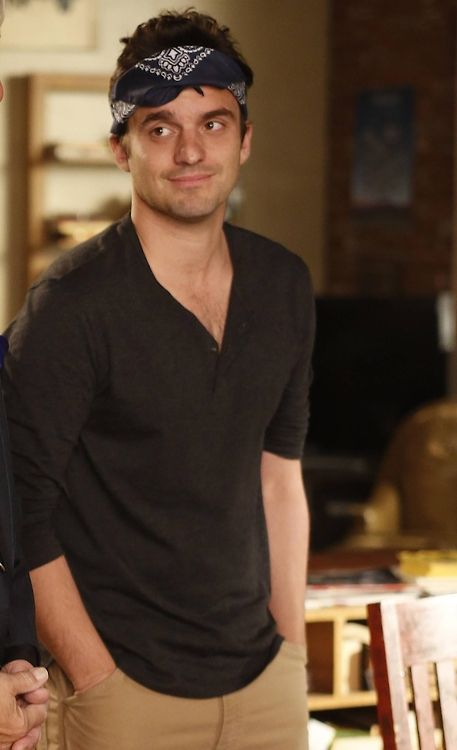 adorable :) Jake Johnson/Nick Miller,New Girl