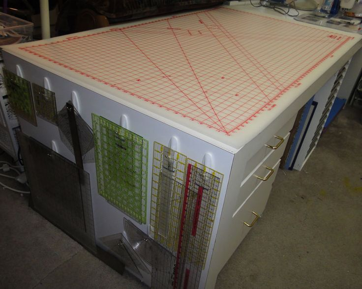 Quilting Ruler Storage Ideas : Quilting Rulers organized and ready! Work Space Ideas Pinterest Tables, Storage and ...