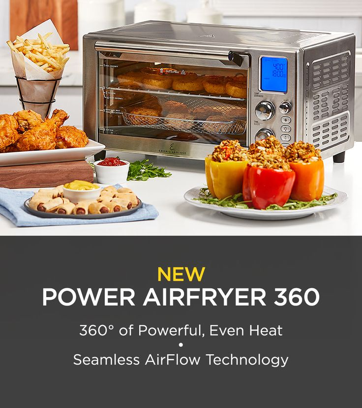 Emeril Lagasse Power AirFryer 360 in 2020 (With images