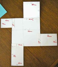 JoZart: Four Fold Card New & Old (with instructions)