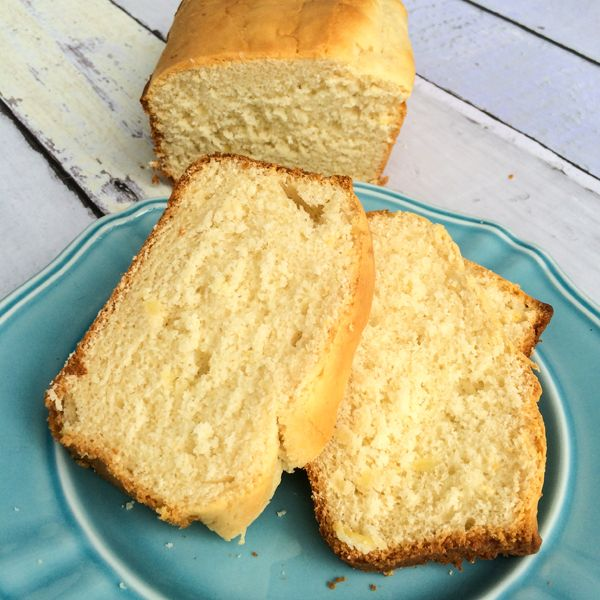 Ice Cream Bread is made with only two ingedients, and is delicious, light and moist and mildly flavored. Tastes great with melted butter or some honey!