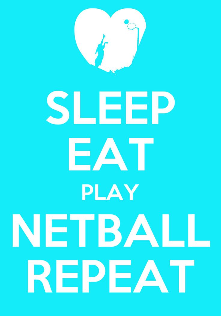 Netball is a way of life ....Silhouette is my favourite player...my daughter!