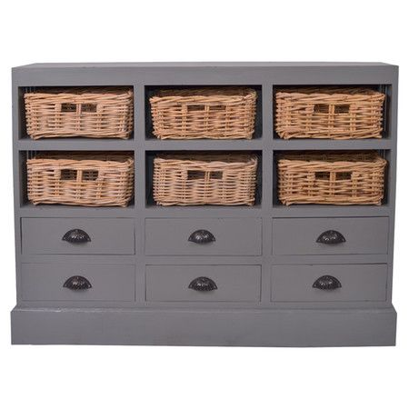 considering another one of these--one for each end of our kitchen island: Ellia Storage, Dark Gray, Nantucket Storage, Old Dressers, Storage Cabinets, Dark Grey, Drawers, Baskets, Nantucket Cabinets