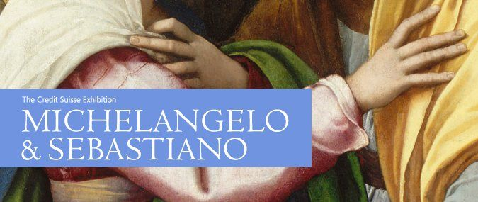 RT @rosewdc: #ARTS #LONDON - The Credit Suisse Exhibition: Michelangelo & Sebastiano @NationalGallery 3/15-6/25  @CreditSuisse https://t.co/UHjq5FyKxC