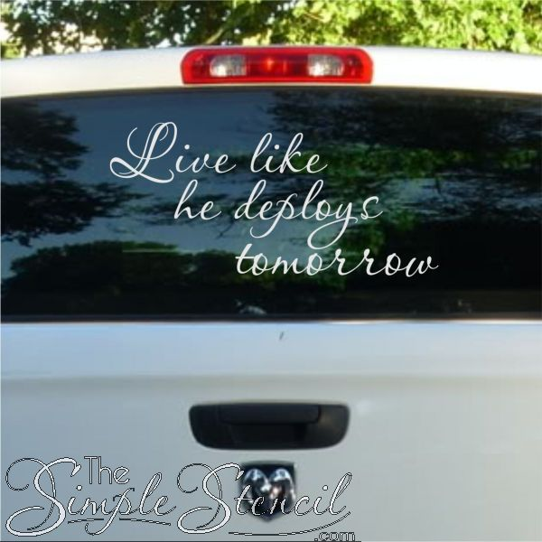 Best Military Family Wall Quote Decals  Home Decor Images On - Custom vinyl decals colorado springs